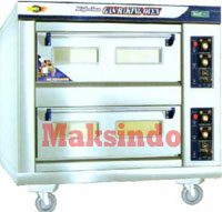 mesin oven pizza