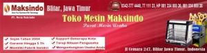 Telah Dibuka Toko Mesin Maksindo Blitar – Jawa Timur