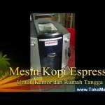 Mesin Kopi Espresso Untuk Kantor dan Rumah Tangga