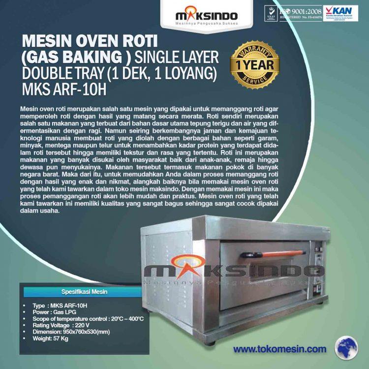 Mesin Oven Roti (Gas baking) MKS ARF-10H