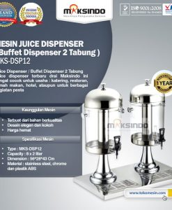 Juice Dispenser / Buffet Dispenser 2 Tabung