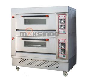 Mesin Oven Roti dan Kue Gas 2 maksindo