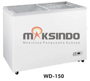 SLIDING FLAT CHEST FREEZER