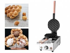 Mesin Egg Waffle (Wafel Bentuk Telur)
