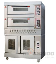 Mesin Combi Deck Oven + Proofer 2 maksindo