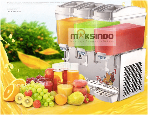 mesin juice dispenser 3 tabung 1 maksindo