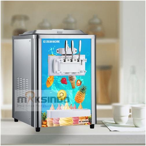 Mesin Soft Ice Cream 3 Kran maksindo