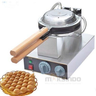 Mesin Egg Waffle Listrik (EW06) 2 maksindo