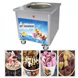 Mesin Fry Ice Cream (Es Krim Roll Goreng)