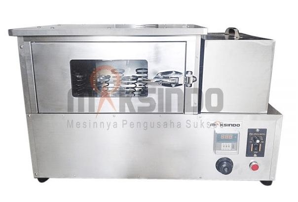 Mesin Pembuat Pizza Cone Paket Lengkap 3 maksindo