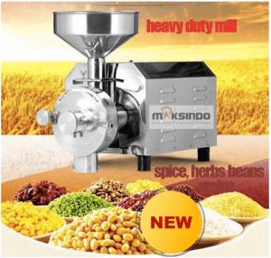 Mesin Penepung Biji-Bijian, Bumbu dan Herbal (GRAIN GRINDER) 2 maksindo