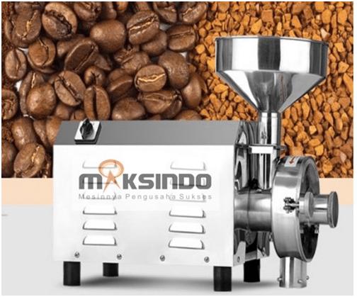 Mesin Penepung Biji-Bijian, Bumbu dan Herbal (GRAIN GRINDER) 3 maksindo