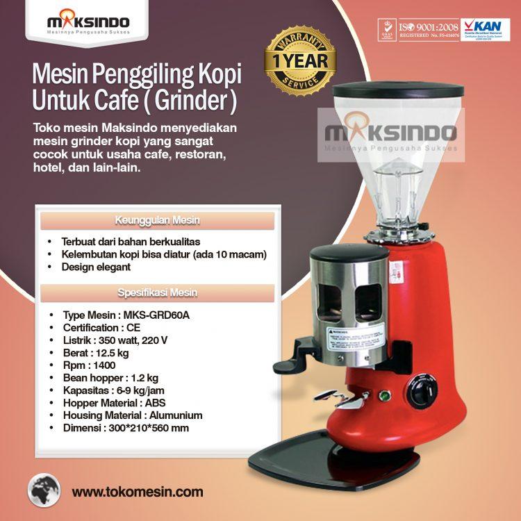 Mesin Grinder (Penggiling) Kopi Untuk Cafe