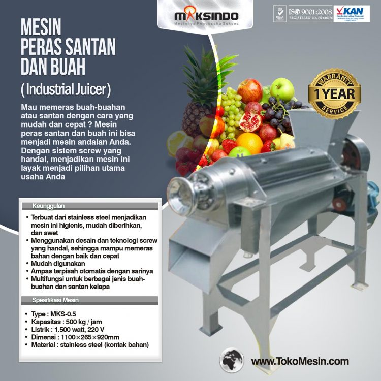 Pengolah Buah / Sayuran