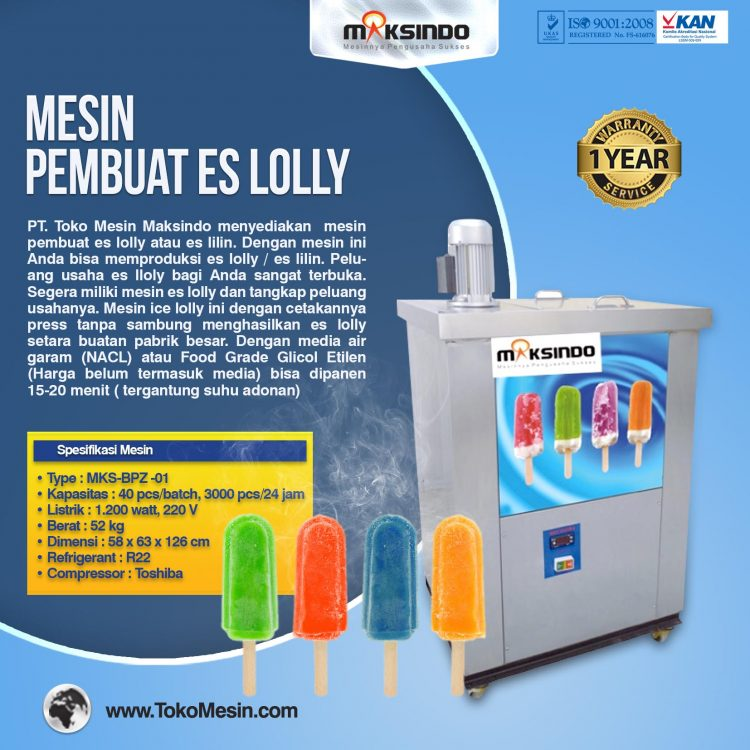 Mesin ice lolly