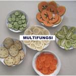 Perajang Manual MULTIFUNGSI Kentang, Singkong dan Sayuran
