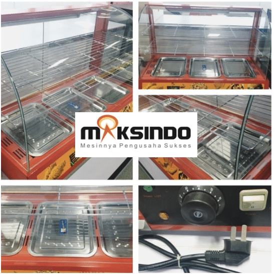 Mesin Diplay Warmer (MKS-3W) 2 maksindo