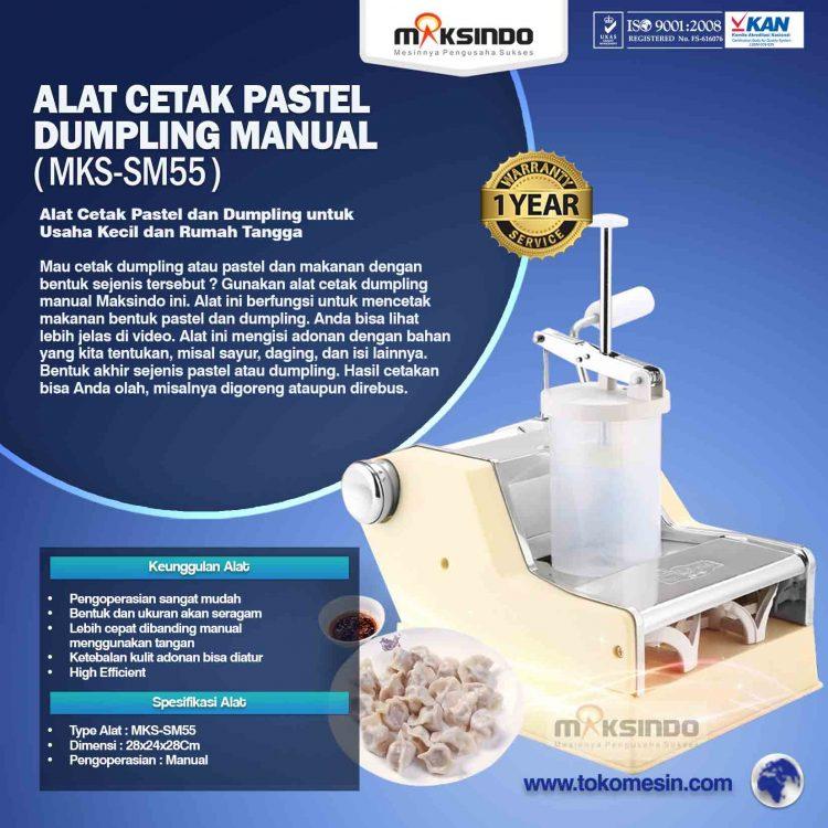 Alat Cetak Pastel Dumpling Manual MKS-SM55