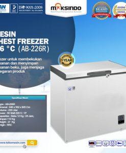 Mesin Chest Freezer -26 __C AB-226R