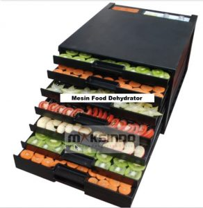 Mesin Food Dehydrator 10 Rak (MKS-DR10) 2 maksindo