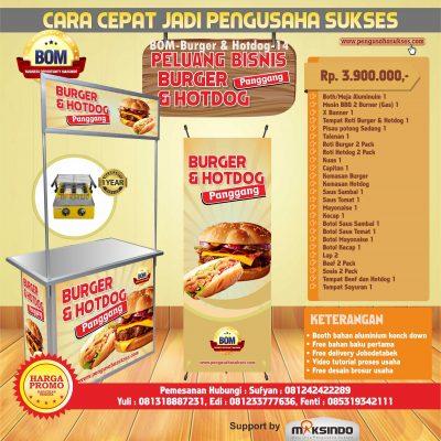 14. Burger & Hotdog