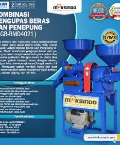 Kombinasi Pengupas Beras dan Penepung AGR-RMD4021