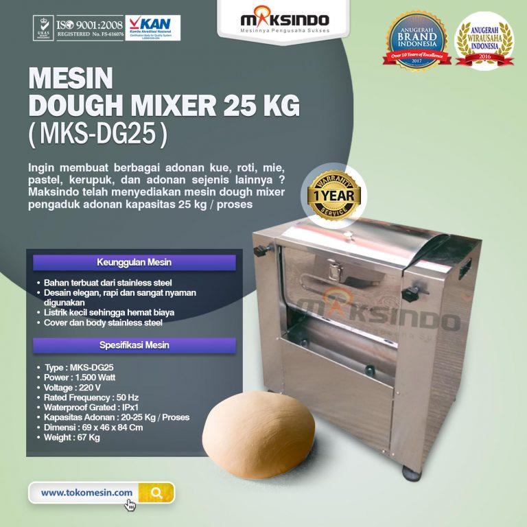 Mesin Dough Mixer 25 kg (MKS-DG25)