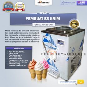 Mesin Es Krim (Soft Ice Cream) ISC-108A atau BQ-108A