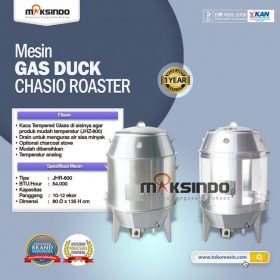 Mesin Gas Duck CHASIO ROASTER JHR-800