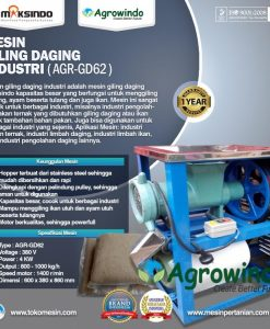 Mesin Giling Daging Industri ( AGR-GD62 )