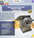 Mesin Keripik Kentang dan French Fries KRP650