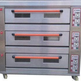 Mesin Oven Roti Gas 3 Rak 9 Loyang (GO39) 2 maksindo