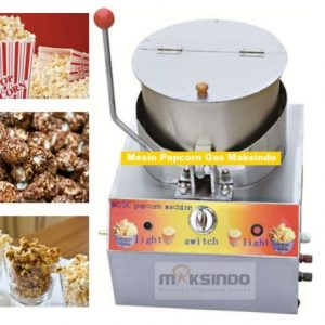 Mesin Popcorn Gas (MKS-POP10) 2 maksindo
