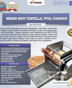 Mesin Roti Tortilla - Pita - Chapati (MKS-TRT50)