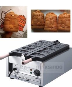 Mesin Waffle Bentuk Bell (MKS-BELL5) 2 maksindo