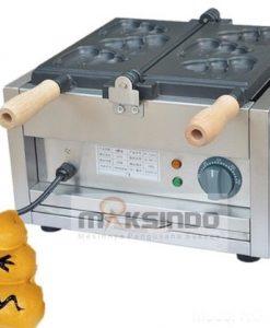 Mesin Waffle Bentuk Poo (MKS-POO2) 1 maksindo