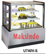 mesin cake showcase 9 maksindo