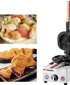 Mesin Kue Waffle Ikan Taiyaki - Gas (TYK02) 1 maksindo