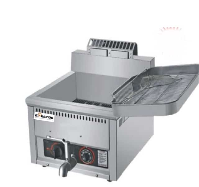 Mesin Luxury Gas Fryer 17 Liter (MKS-G17B) 2 maksindo