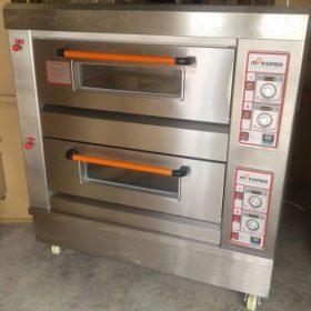 Mesin Oven Roti Gas 2 Rak 4 Loyang (GO24) 2 maksindo