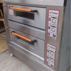 Mesin Oven Roti Gas 2 Rak 4 Loyang (GO24) 4 maksindo