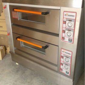 Mesin Oven Roti Gas 2 Rak 4 Loyang (GO24) 5 maksindo