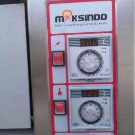 Mesin Oven Roti Gas 2 Rak 4 Loyang (GO24) 6 maksindo