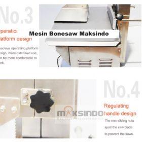 Bonesaw Pemotong Daging Beku (MKS-BSW210) 3