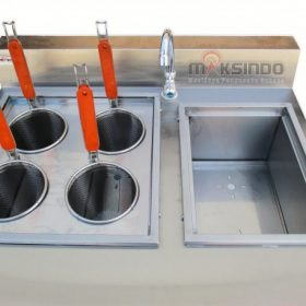 Gas Pasta Cooker With Bain Marie (4 Baskets) MKS-PCBM4 3