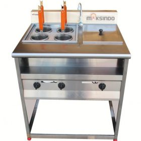 Gas Pasta Cooker With Bain Marie (4 Baskets) MKS-PCBM4 4