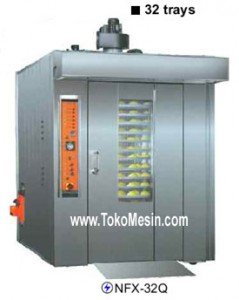 mesin oven rotary