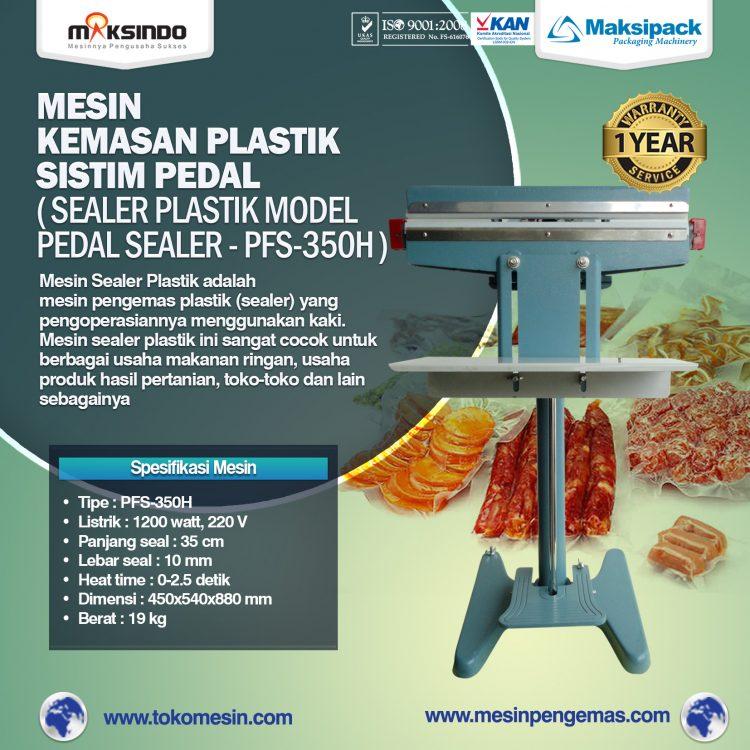 Mesin Sealer Plastik Pedal Sealer PFS-350H