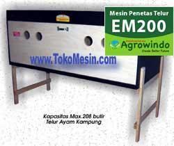 Spesifikasi dan Harga Mesin Penetas Telur