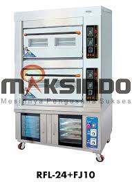 mesin combi deck oven-maksindo